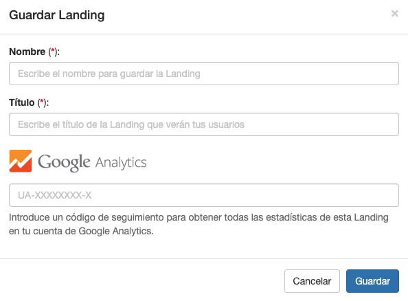 Recuerda poner el código de Google Analytics en tus Landings - Mensagia