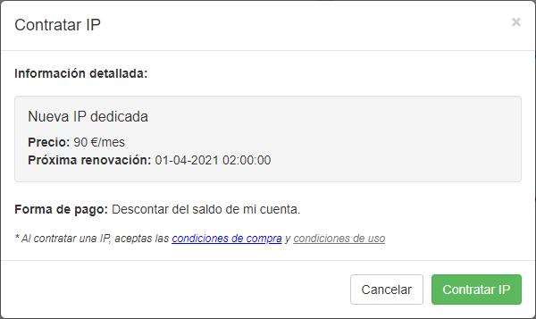 IP dedicadas - Contratar IP - Mensagia