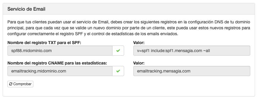 Marca blanca: Email - Mensagia