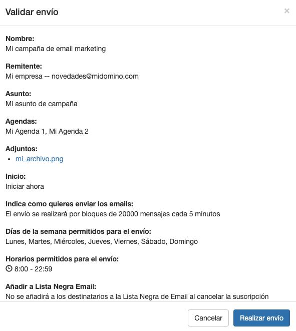 Planifica tus campañas de email marketing - Mensagia